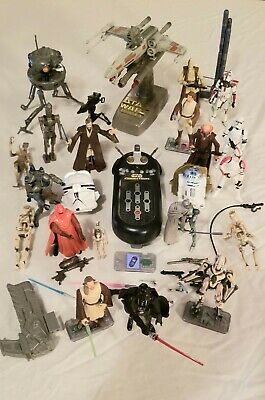 $ CDN59.99 • Buy Star Wars Lot - Vintage Action Figures, CommTech, Various Weapons & Accessories