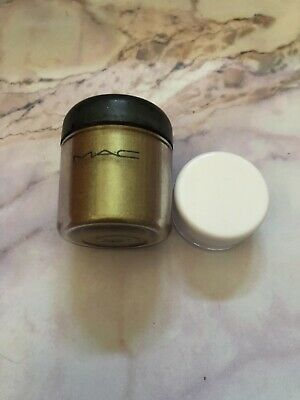 Genuine MAC Pigment Old Gold 0.4g Unbranded Clear Sample Pot • 1.50£