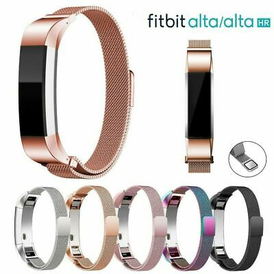 $ CDN12.22 • Buy For Fitbit Alta / Alta HR Magnetic Steel Stainless Watch Band Strap Milanese