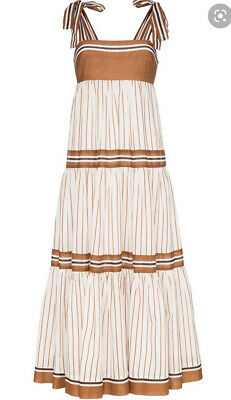 AU349 • Buy Zimmermann Veneto Tiered Stripe Tie Dress 0