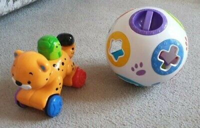 Baby Toy Shape Sorter And Push Along Toy, Ideal For Toddlers And Young Children • 1.40£
