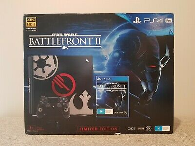 AU600 • Buy Sony Playstation 4 PS4 Pro 1TB Star Wars Limited Edition Rare Aus Edition