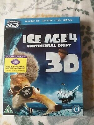 Ice Age 4: Continental Drift (Blu-ray 3D + Blu-Ray + DVD+Digital)  • 2£
