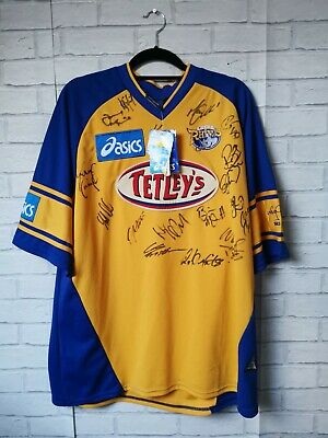 Leeds Rhinos 2003 Special Testimonial Team Signed Rugby League Jersey Xl Bnwt • 150£