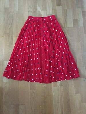 & Other Stories Polka Dot A-Line Skirt Size 8  • 4.99£