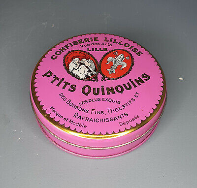 Collectable P'tits Quinquins Fine Sweet Tin - Empty Rare French Decorative (T27) • 3.95£