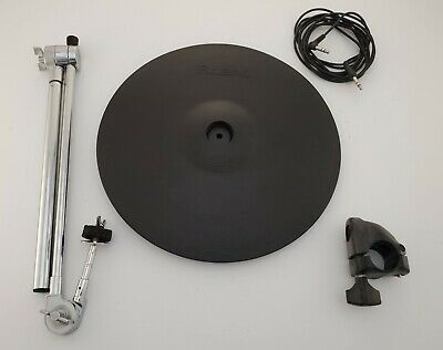 AU334.54 • Buy Roland CY-15R V Drum Ride Cymbal WITH Clamp , Cable And Boom Arm. Excellent Cond
