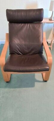 Ikea Poang Chair Brown Letter • 35£