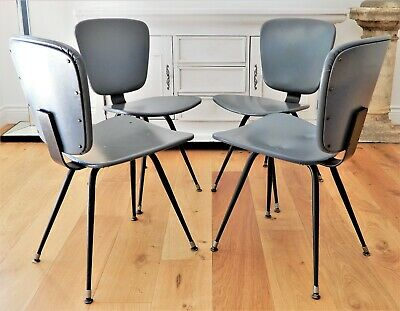AU890 • Buy 4 X Genuine Grant Featherston 1960's Aristoc Dining Chairs Mid-Century Modern