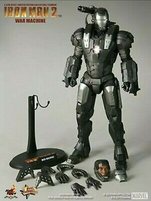 $ CDN404.27 • Buy Hot Toys War Machine Mark I Iron Man 2 MMS120 1:6 Scale Action Figure