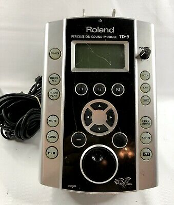 AU391.45 • Buy Roland TD-9 TD9 Electronic V-Drum Brain Percussion Sound Module