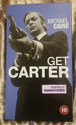Get Carter (1971): Digitally Remastered - Michael Caine VHS/  • 1.75£