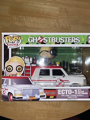 Ghostbusters Ecto-1 With Jillian Holtzmann Pop Vinyl Ride • 35£