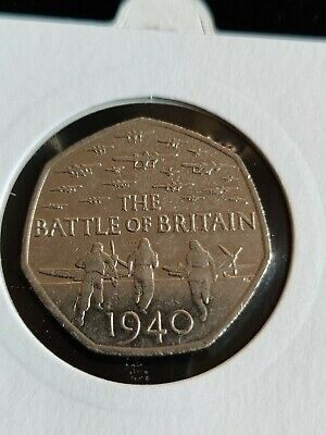 British 50p Fifty Pence Coin Collection 1969 - 2015 Battle Of Britain WWII 🇬🇧 • 0.99£
