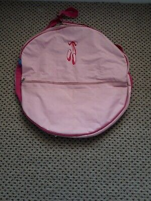 Dancewear Ballet Shoes Pancake Tutu Zip Around Bag Small • 5.50£