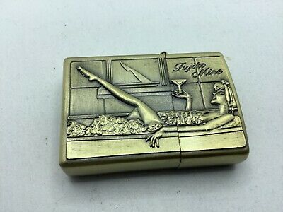 Lighter Cigarette Brass 3d Extra Thick Case New • 5.50£