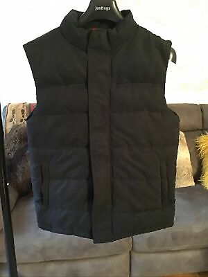 Peter Storm Black Padded Warm Gilet Body Warmer Size 14 • 15£