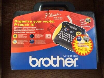 Brother P-touch Label Printer 1250 • 35£