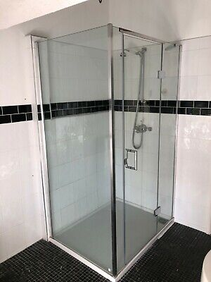 £375 • Buy Matki Eauzone Shower Cubicle Complete With Low Profile Tray
