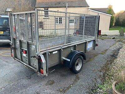 Ifor Williams GD84 Trailer - Mesh Sides - Spare Wheel - New Floor And Brake Line • 1,500£