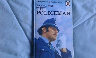 Ladybird Book  People At Work  The Policeman 606B, 30p Edition • 3£