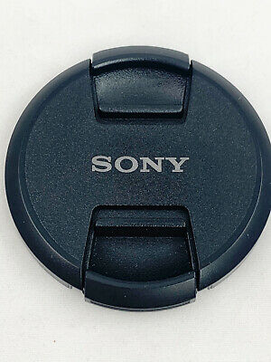 AU9.36 • Buy 62mm Front Lens Cap Center Pinch Snap On For Sony Camera Plastic Used