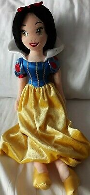 Disney Store Exclusive Princess Snow White Soft Plush Doll Toy Teddy Cuddly  • 2.60£