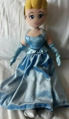 Disney Store Exclusive Rare Stamped Princess Cinderella Soft Plush Doll Toy  • 2.50£