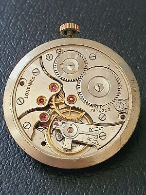 $ CDN39.59 • Buy Vintage Longines 27.M Watch Movement, With Dial,  Working