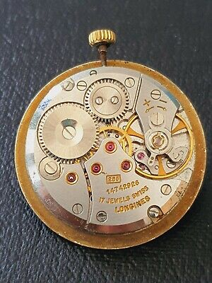 $ CDN53.29 • Buy Vintage Longines 285 Gents Watch Movement, With Dial,  Working