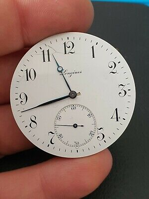 $ CDN11.42 • Buy Vintage Longines 19.79ABC Pocket Watch Movemenet With Dial, For Parts