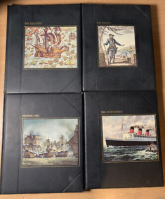 4 X Time Life Books  The Seafarers Collection  Hardback Books. Joblot Of 4 Books • 7.99£