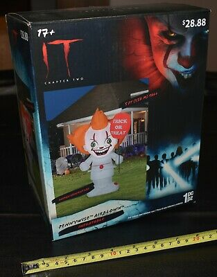 $ CDN55.69 • Buy IT Chapter Two Pennywise Airblown Inflatable 5 Ft LED Self-inflates, Halloween