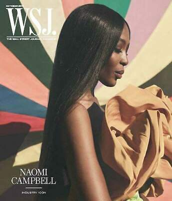 $10.95 • Buy WSJ. The Wall Street Journal Magazine - October 2019 Naomi Campbell