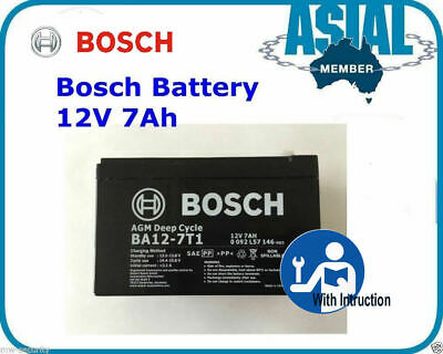 AU40.50 • Buy BOSCH Battery Security Alarm System NESS Hills 12V 7Ah Battery AGM Deep Cycle