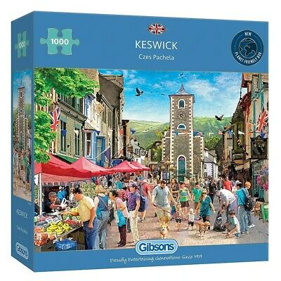 Gibsons  Keswick  1000 Pieces Jigsaw Puzzle • 13.99£