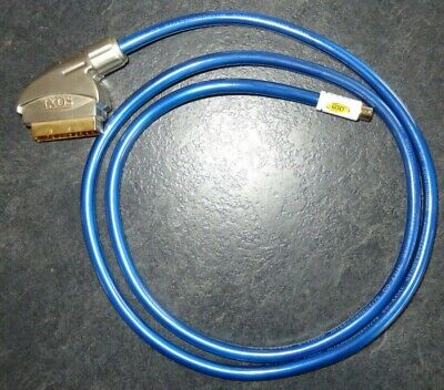 IXOS 1.5m SCART To S-Video Cable Gold Plated Professional Cable • 2.99£