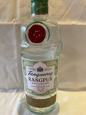 Gin Bottle Tanqueray Rangpur Ideal For Upcycling EMPTY 70cl • 2£