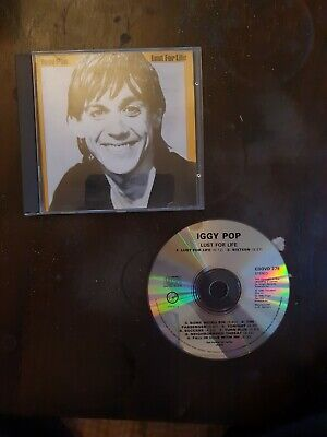 Iggy Pop CD Album Lust For Life Virgin Label 1990 • 1.10£
