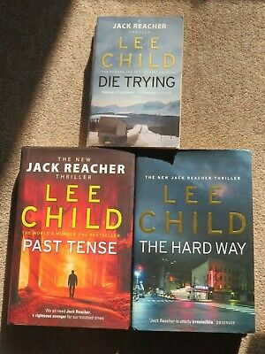 Lee Child: Die Trying / Past Tense (HB) / The Hard Way (HB) • 0.99£