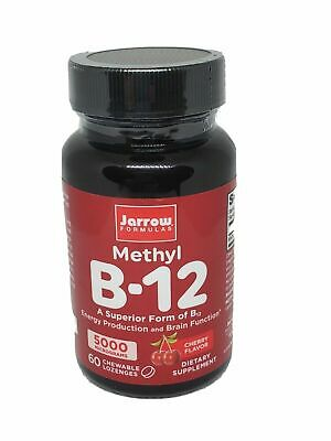 (Methyl B12) Methylcobalamin Jarrow Formulas 5000 Mcg, 60 Chewable Lozenges • 12.56£