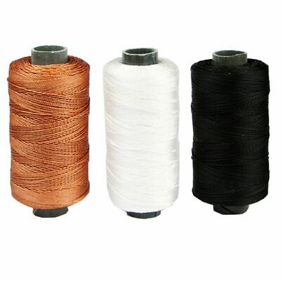 Jute Twine Thin Twisted Rope Strings Threads For Leathers Tools Sewing Knitting • 10.85£