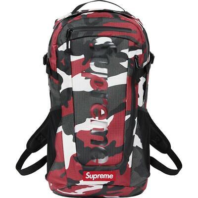 $ CDN252.47 • Buy New SUPREME Backpack SS 21 SS21 Red Camo