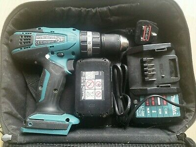 Makita HP457D Combi Drill, Battery, Charger (NOT LXT) • 36£