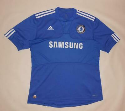 HOME SHIRT ADIDAS CHELSEA LONDON 2009-10 (L) Jersey Trikot Maillot Maglia • 9.99£