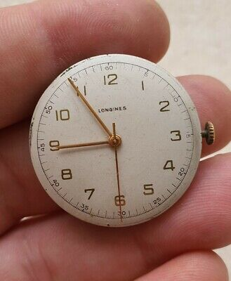 $ CDN41.11 • Buy Vintage Longines 12.68 N Gents Watch Movement, With Dial,  Working