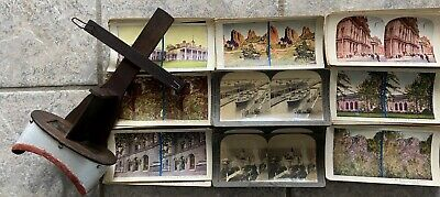 £113.27 • Buy 120 +  Stereoview Keystone Picture Cards + Stereoscope Viewer US World