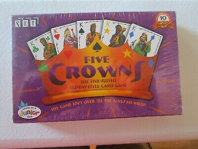 AU9.65 • Buy Five Crowns , Rummy Style Card Game, 5 Suits, New In Sealed Box