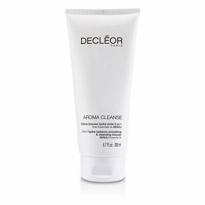 Decleor Aroma Cleanse 3 In 1 Hydra Radiance Cleansing Mousse 200ml NEW • 69.95£