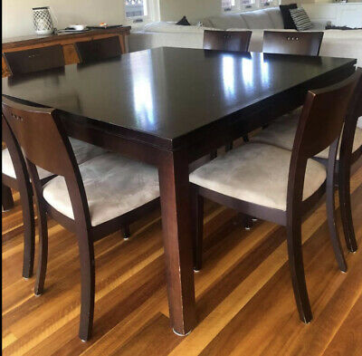 AU300 • Buy 8 Seater Dining Table And Chairs. Made In Italy. Pick Up Vaucluse Nsw. $600.